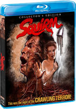 Squirm Blu-Ray Cover