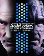 Star Trek: Chain of Command Blu-Ray Cover
