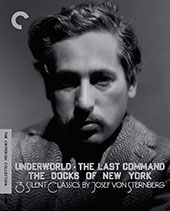 3 Silent Classics By Josef Von Sternberg Criterion Collection Blu-Ray Cover