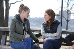 Julianne Moore and Kristen Stewart star in the 2014 top drama Still Alice.
