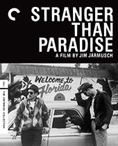 Stranger in Paradise Criterion Collection Blu-Ray Cover