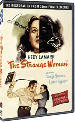 DVD Cover for The Strange Woman
