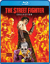 The Street Fighter Collection Blu-Ray Cover