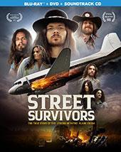 Street Survivors: The True Story of the Lynyrd Skynyrd Plane Crash Blu-Ray Cover