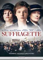 DVD Cover for Suffragette
