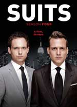 DVD Cover for Suits: Season 4