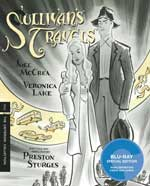 Criterion Collection Blu-Ray Cover for Sullivan's Travels