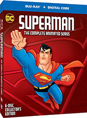 Superman: The Complete Series Blu-Ray Cover