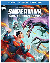 Superman: Man of Tomorrow Blu-Ray Cover