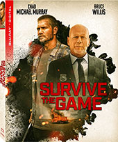 Survive the Game Blu-Ray Cover
