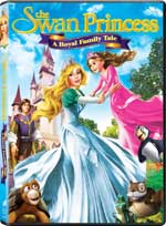 The Swan Princess: A Royal Family Tale DVD Cover