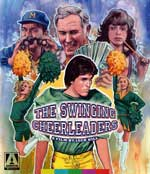 The Swinging Cheerleaders Blu-Ray cover
