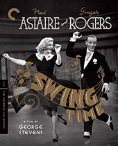 Swing Time Criterion Collection Blu-Ray Cover