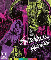 Switchblade Sisters Blu-Ray Cover