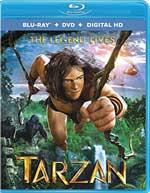 Tarzan Blu-Ray Cover