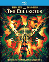The Tax Collector Blu-Ray Cover