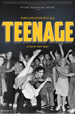 DVD Cover for Teenage