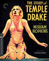 The Story of Temple Drake Criterion Collection Blu-Ray Cover
