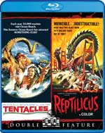 Tentacles and Reptilicus Blu-Ray Cover