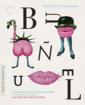 Three Films by Luis Buñuel Criterion Collection Blu-Ray Cover