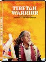 DVD Cover for Tibetan Warrior
