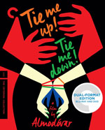 The Criterion Collection Blu-Ray cover for Tie Me Up! Tie Me Down!