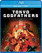 Tokyo Godfathers Blu-Ray Cover