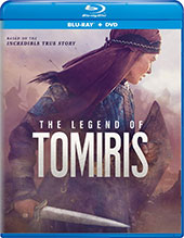 The Legend of Tomiris Blu-Ray Cover