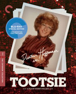 The Criterion Collection Blu-Ray cover for Tootsie