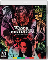 Toys Are Not for Children Blu-Ray Cover
