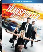 The Transporter Refueled Blu-Ray Cover