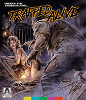 Trapped Alive Blu-Ray Cover