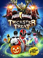 DVD Cover for Saban's Power Rangers Trickster Treat