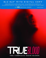 True Blood: The Complete Sixth Season Blu-Ray Cover