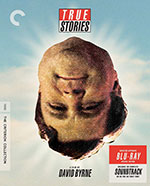 The Criterion Collection Blu-Ray cover for True Stories
