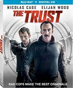 The Trust Blu-Ray Cover