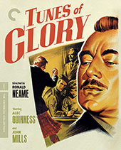Tunes of Glory Criterion Collection Blu-Ray Cover