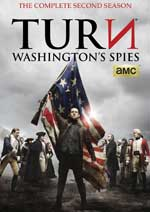 DVD Cover for Turn: Washington's Spies - The Complete Second Season