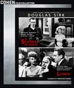Two Films by Douglas Sirk: A Scandal in Paris and Lured Blu-Ray Cover