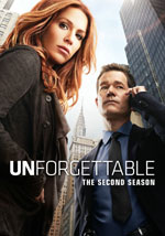 DVD Cover for Unforgettable: The Second Season