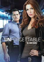 DVD Cover for Unforgettable: The Complete Third Season