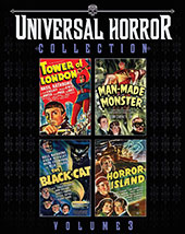Universal Horror Collection Vol. 3 Blu-Ray Cover