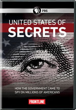 DVD Cover for Frontline: The United States of Secrets