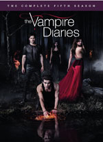 DVD Cover for Vampire Diaries: The Complete Fifth Season