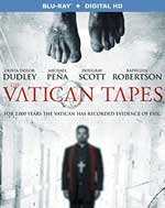 The Vatican Tapes Blu-Ray Cover