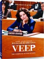 DVD Cover for Veep Season 2