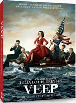 DVD Cover for VEEP: The Complete Third Season