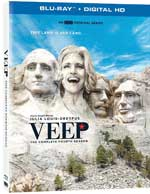 Veep: The Complete Fourth Season Blu-Ray Cover