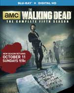 The Walking Dead Season 5 Blu-Ray Cover