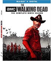 The Walking Dead Season 9 Blu-Ray Cover